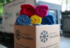 Fundo Social de São Paulo recebe cobertores novos para Campanha Inverno Solidário 2021