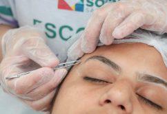 No fim de semana da beleza,  profissionais do Fundo Social dão dicas para cuidar melhor do cabelo e da sobrancelha