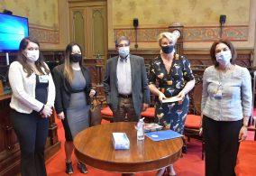 Fundo Social doa 23 mil máscaras de proteção para a Santa Casa de Misericórdia de São Paulo