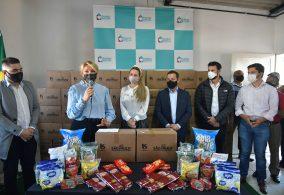 Governo de SP entrega mais 1.440 cestas básicas para famílias em vulnerabilidade