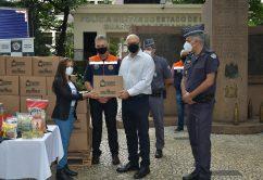 Campanha Vacina Contra a Fome em parceria com a Polícia Militar