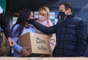 Doação de 3.000 cestas básicas e 2.000 cartões de alimentação